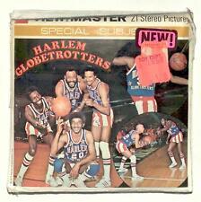SEALED 1977 vintage GAF view master HARLEM GLOBETROTTERS reel set basketball !!