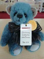 NEW 2020 Charlie Bears Minimo Mohair BLUEBEARY (Limited Edition 376/600)
