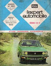 RTA revue technique automobile n° 123 RENAULT 30 R30 TS 1976