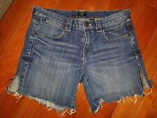 J. CREW Women's Stretch Denim Shorts Medium Wash Size 4 Style 34619