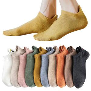 Women Ankle Socks Cotton Funny Low Cut Short Boat Socks Casual Trainer Footwear