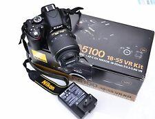 Excellent NIKON D D5100 Digital SLR Camera with18-55 VR lens 5550 clicks