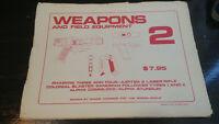 weapons and field equipment schematics 2 blueprints posters space 1999 star trek