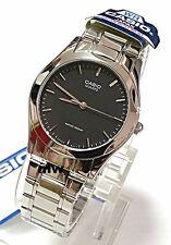 Authentic Casio MTP-1275D-1A Men's Analog Quartz Dress Black Dial Watch FreeShip