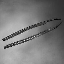 Carbon Fiber Headlight Eyebrow Eyelids Trim for Nissan 240SX S14 Kouki 1997-1998