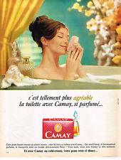 PUBLICITE ADVERTISING  1967   CAMAY   savon