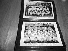 BRADFORD CITY FOOTBALL CLUB PHOTO ALBUM (1950's/1960's +++++ FA CUP WIN 1911)