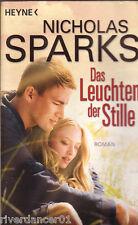 DAS LEUCHTEN DER STILLE Roman zum Film IN GERMAN Nicholas Sparks ~ SC 2010