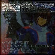 Mobile Suit Gundam anime Music Soundtrack Japanese Cd Seed Destiny Complete Best