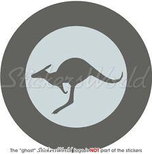 "AUSTRALIA Australian AirForce Aircraft LowVis Roundel 100mm (4"") Sticker-Decal"