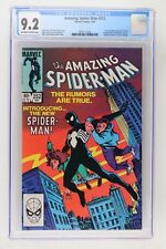 Amazing Spider-Man #252 - Marvel 1984 CGC 9.2 Ties with Marvel Team-Up #141 for