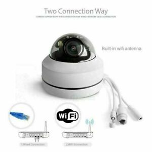 2.5 Inch HD 1080P 4X Zoom Lens Wireless Wi-Fi PTZ Dome IP Camera Audio Outdoor