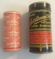 Vintage Zenith Tebet Almond Stick Furniture Scratch Remover Tin & Product