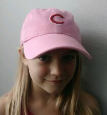 Chicago Cubs Girls Youth Pink Hat Cap adjustable Fit MLB New Era 47 FREE SHIPPIN