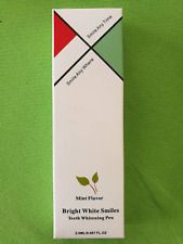 Bright White from SureSoles Teeth whitening professional gel pen tooth whitener