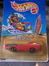 HOT WHEELS  LIMITED EDITION DEORA, VAN DE KAMP'S FISH-O-SAURS