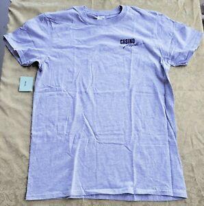 Gildan T-Shirt Short Sleeve Gray Soft Style Casino Royale Royal Caribbean Size M