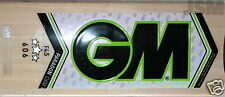 2lb 13oz = GM PARAGON 606 - MADE in UK- English Willow Cricket Bat -GUNN & MOORE