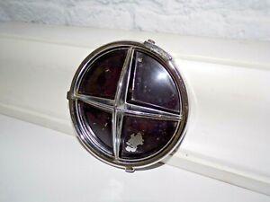 Vintage Studebaker Commander Fog Light Lamp Delete Chrome PN 7723 Cover