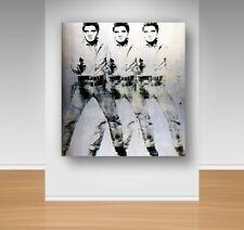 Canvas Wall Art - Andy Warhole - Triple Elvis
