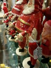 LOT Antique Paper Mache Santa Candy Container Vintage Christmas Doll vintage OLD