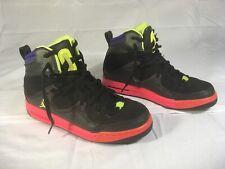 Nike Jordan Retro  2013 BLACK / PINK  (599939-049) 7Y In Womens 8.5 In Mens 7