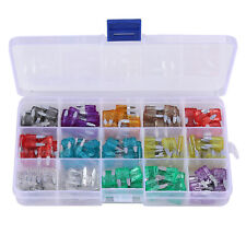150Pcs Car Truck Mini Blade Fuses Assorted Set 2 3 5 7.5 10 15 20 25 30 35Amp