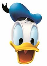 Donald Duck (Mickey Mouse Ami) Disney Officiel carte unique Fête Masque Visage