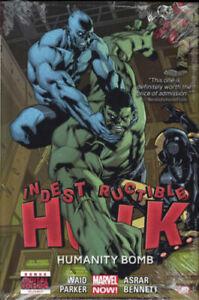 MARVEL COMICS 2014 INDESTRUCTIBLE HULK 4 HUMANITY BOMB HARDBACK WAID EXC-NM!!!