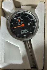 Fowler 52 520 110 B Dial Indicator Black Face Rang 0 1 001 Reading