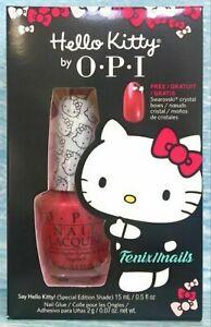 OPI Nail Polish ~* Say Hello Kitty *~ Special Edition Shade HTF Color
