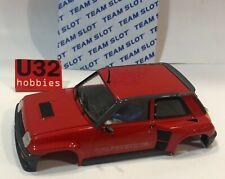 Team Slot Carrosserie Renault 5 Turbo 2 Rouge Street Car
