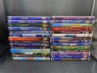 DVD LOT OF 28 WALT DISNEY TITLES ALADDIN BAMBI CARS CINDERELLA NEMO MULAN +++