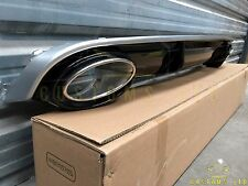 Audi RS4 Rear Diffuser Inc Exhaust Tip For A4 S4 (Non S Line) 2008+ B8 UK Stock