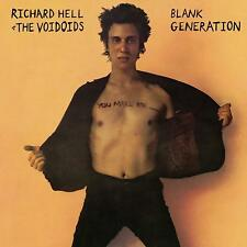 RICHARD HELL & THE VOIDOIDS BLANK GENERATION LIMITED EDITION ORANGE VINYL LP