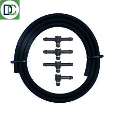 Denso Diesel Injector Leak Off Connector Kit incl. 3 x 180° / 1 x 90° / 1m Pipe