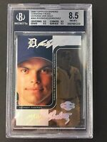2006 TOPPS CO-SIGNERS IVAN RODRIGUEZ HYPERSILVER GOLD 5/5 SP BGS 8.5 NMMT+ TIGER