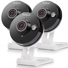 Funlux® Mini 720P HD Wireless IP IR Two Way Audio Home Security Camera (