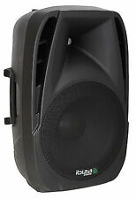 "Ibiza BT15A 15"" Active Bluetooth Mp3 USB Speaker 500w"