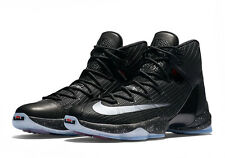 Brand New Mens Nike Lebron XIII Elite 831923-001 Black/Reflect Silver Size 8