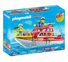 PLAYMOBIL® City Action - Feuerlöschboot * Fire-Fighting Boat - 70147 - NEU
