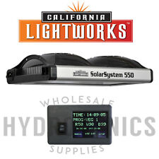 California Light Works-SolarSystem 550 Program.Specrum LED GrowLight&Controller!