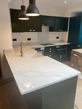 Calacatta Gold   Double Veins Quartz Kitchen Worktop | All colours available