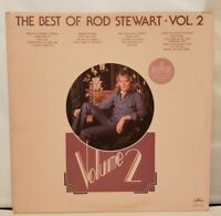 Rod Stewart - The Best of Volume 2 (1976) Vinyl LP • Greatest Hits Vol. Two +VG