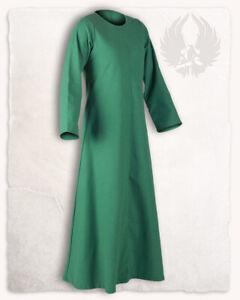 Alina Unterkleid grün S Larp Mittelalter Reenactment (E#00159)