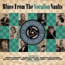 Blues From The Vocalion Vaults - 50 Original Blues Classics 2CD NEW/SEALED