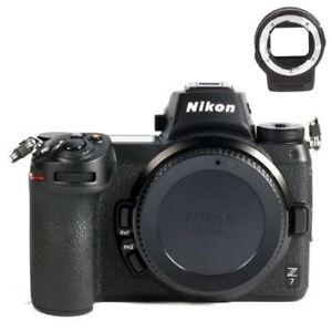 Nikon Z7 Appareil Photo Hybride 45,7 MP + Bague Adaptation FTZ + Accessoires