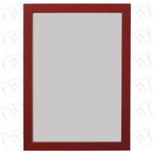 FISKBO Photo Frame Picture Frame Poster Frames Dark Red 21x30 cm New Home Decor