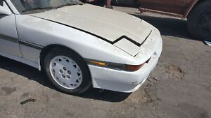 1989 Toyota Supra MK3 complete front end with fenders & hood USED