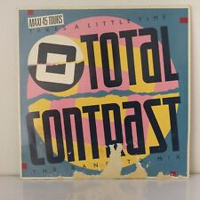 "Total Contrast ‎– Takes A Little Time (Vinyl, 12"", Maxi 45 Tours)"